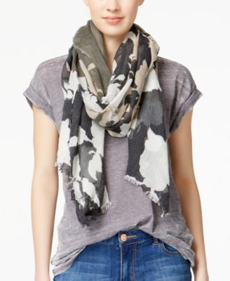 Vince Camuto Silhouette Garden Scarf