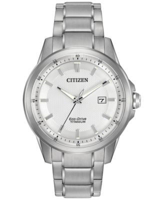 Citizen Men's Eco-Drive Stainless Steel Bracelet Watch 42mm AW1490-50A