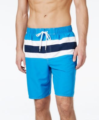 Newport Blue Men's Big and Tall Bandera Swim Trunks