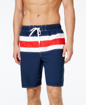 Newport Blue Bandera Swim Trunks
