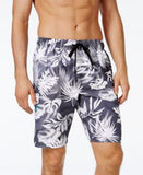 Newport Blue Men's Big and Tall Tropical Swim Trunks