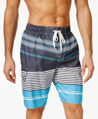 Newport Blue Big and Tall At A Slant Swim Trunks