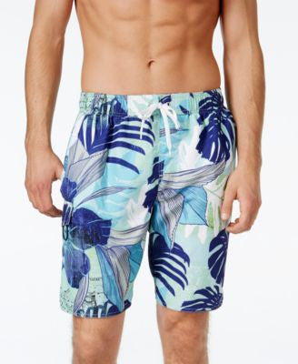 Newport Blue Big and Tall Relax & Unwind Swim Trunks