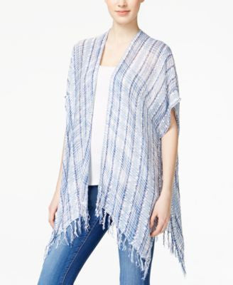 Collection XIIX Striped Confetti Poncho