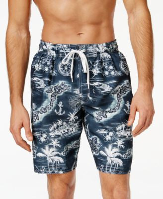 Newport Blue Private Island Swim Trunks