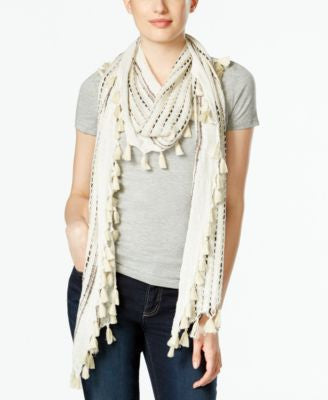 Collection XIIX Reoccuring Slub Shine Scarf