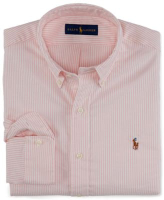 Polo Ralph Lauren Slim-Fit Striped Stretch-Oxford Shirt