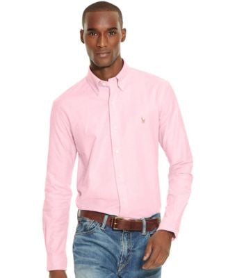 Polo Ralph Lauren Slim-Fit Stretch-Oxford Shirt