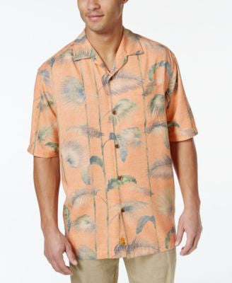 Tommy Bahama Foster Silk Frond-Print Short-Sleeve Shirt