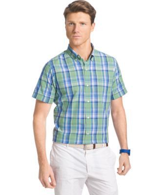 IZOD Large-Plaid Shirt
