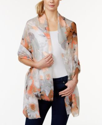Cejon Watercolor Floral Day Wrap
