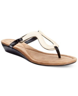 Alfani Women's Farynn Wedge Sandals, Only at Vogily