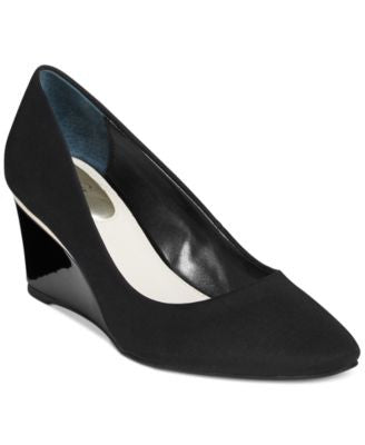 Alfani Women's Nadeen Wedge Pumps, Only at Vogily