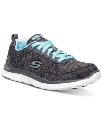 Skechers Women's Flex Appeal - Pretty City Running Sneakers from Finish Line