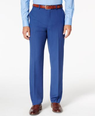 Sean John Men's Medium Blue Classic-Fit Pants