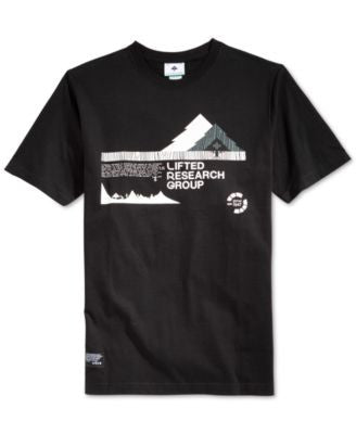LRG Men's Alps Graphic-Print Logo T-Shirt