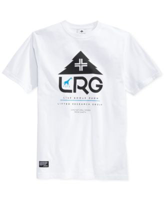 LRG Men's Fresh Outdoors Graphic-Print Logo T-Shirt
