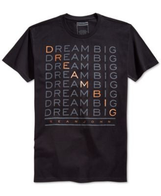 Sean John Men's Dream Big Graphic-Print T-Shirt