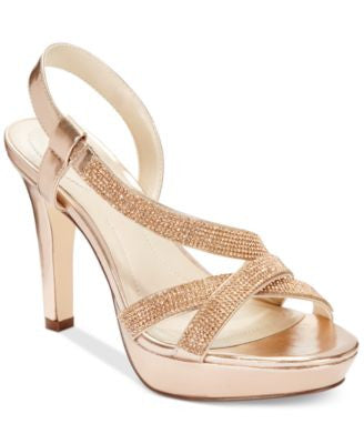 Style & Co. Sandrah Asymmetrical Platform Pumps, Only at Vogily