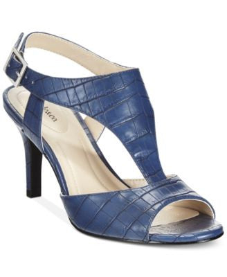 Style & Co. Saharii T-Strap Dress Sandals, Only at Vogily