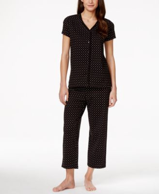 Charter Club Scroll-Print Pajama Set, Only at Vogily