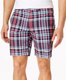 Club Room Big and Tall Plaid Shorts, Only at Vogily