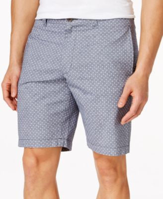 Club Room Guild Dot Print Shorts, Only at Vogily