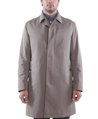 Sanyo Covey Micro-Twill Trench Coat