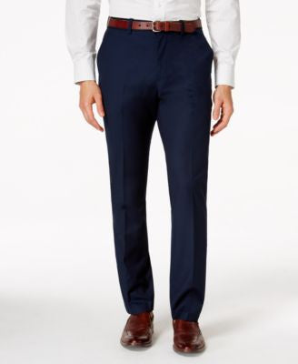 American Rag Men's Flat Front Dressy Pants, Only at Vogily