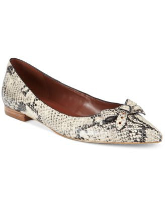Cole Haan Alice Skimmer Bow Flats