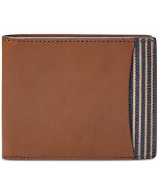 Fossil Knox Flip ID Leather Bi-Fold