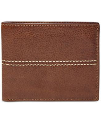 Fossil Turk RFID-Blocking Flip ID Leather Bifold