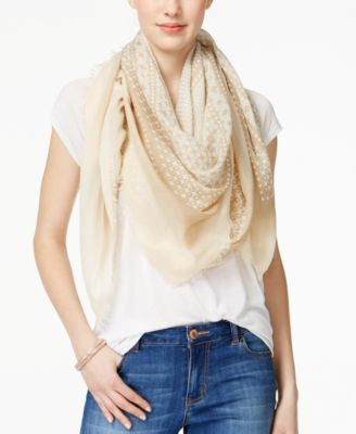 Collection XIIX Bleached Denim Scarf