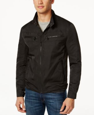 Cole Haan Full-Zip Stand-Collar Jacket