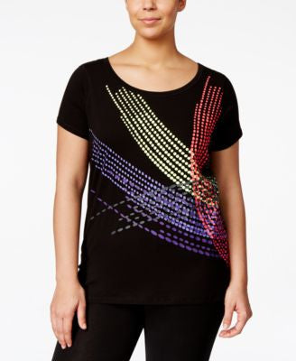 Ideology Plus Size Graphic T-Shirt, Only at Vogily
