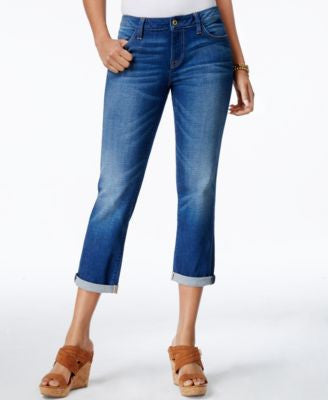 Tommy Hilfiger Cropped Medium Wash Jeans