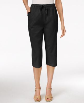 Karen Scott Drawstring Capri Pants, Only at Vogily
