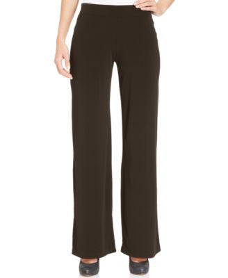 JM Collection Pull-On Wide-Leg Pants