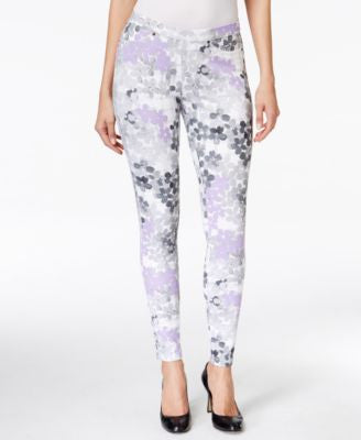 Hue Floral Denim Leggings