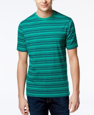 Club Room Men's Striped T-Shirt, Only at Vogily