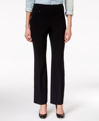 JM Collection Pull-On Boot Cut Pants, Only at Vogily