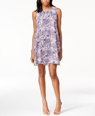 BCBGeneration Sleeveless Printed Shift Dress