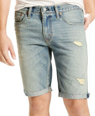 Levi's® Men's 511 Slim-Fit Beverly Glen Cutoff Ripped Jean Shorts