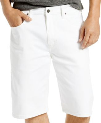 Levi's® Men's 569 Loose Straight-Fit White Bull Denim Shorts