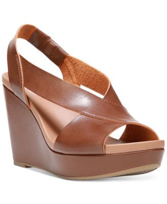 Dr. Scholl's Mean It Slingback Platform Wedge Sandals