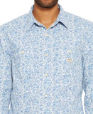 Denim & Supply Ralph Lauren Men's Floral-Print Cotton Workshirt