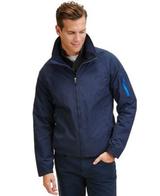 Nautica Big and Tall Men's Solid Lightweight Bomber Jacket