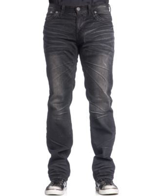 Affliction Men's Blake Fleur Relaxed-Straight Fit Springfield Jeans