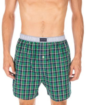 Tommy Hilfiger Plaid Boxers - 09T2830