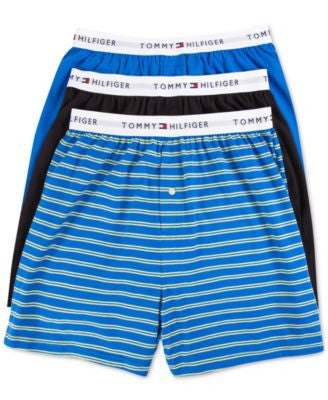 Tommy Hilfiger Men's Woven Boxers, 3-Pack - 09TV026